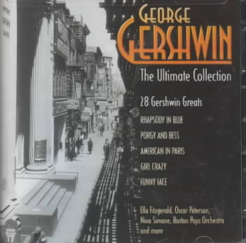 ULITMATE COLLECTION:GEORGE GERSHWIN (CD)