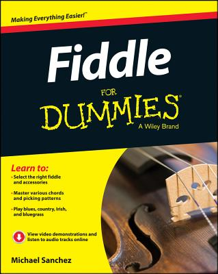 Fiddle for Dummies + Online Video and Audio Instruction By Sanchez (COR)